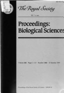 Proceedings Of The Royal Society