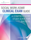 Social Work ASWB Clinical Exam Guide and Practice Test Set