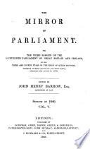 Mirror Of Parliament