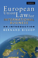 European Union Law for International Business