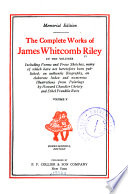 James Whitcomb Riley s complete works  including poems and prose sketches