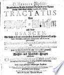 Tractatus von Wechsel-Brieffen und dero usancen