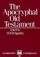 The Apocryphal Old Testament Old Testament Books It Is