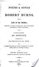 The Poems   Songs of Robert Burns