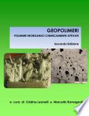 GEOPOLIMERI POLIMERI INORGANICI CHIMICAMENTE ATTIVATI Seconda Edizione