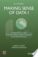 Making Sense of Data I