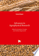 Advances in Agrophysical Research