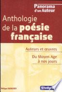 Anthologie de la po  sie fran  aise