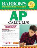 Barron s AP Calculus  14th Edition