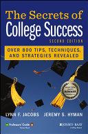 The Secrets of College Success