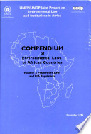 Compendium of Environmental Laws of African Countries