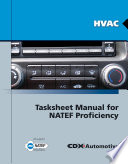 HVAC Tasksheet Manual for NATEF Proficiency