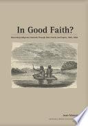 In Good Faith?