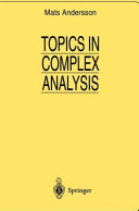 Topics in Complex Analysis