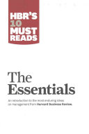 HBR s 10 Must Reads Big Business Ideas Collection 2015 2017