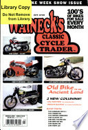 WALNECK'S CLASSIC CYCLE TRADER, MARCH 2000