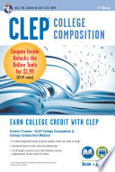 CLEP College Composition Book   Online