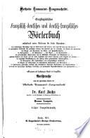 Encyclop  disches franz  sisch deutsches und deutsch franz  sisches W  rterbuch