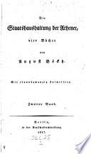 Die Staatshaushaltung der Athener, 4 Bücher