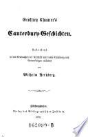 Geoffrey Chaucer's Canterbury-Geschichten