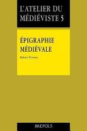 Épigraphie médiévale