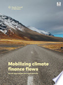 Mobilizing Climate Finance Flows