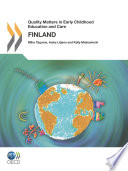 Quality Matters in Early Childhood Education and Care Quality Matters in Early Childhood Education and Care  Finland 2012