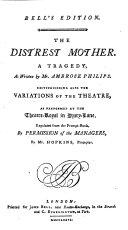download ebook the distrest mother pdf epub
