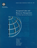 Integrated Lake And Reservoir Management book