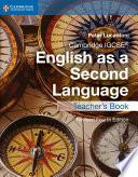 Cambridge IGCSE   English as a Second Language Teacher s Book