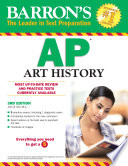 Barron s AP Art History  3rd edition
