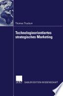Technologieorientiertes strategisches Marketing