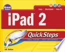iPad 2 QuickSteps