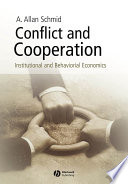 Conflict and Cooperation