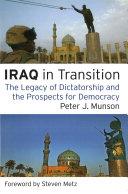 Iraq in Transition