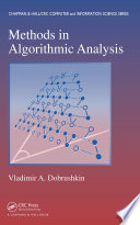 Methods in Algorithmic Analysis