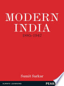 Modern India 1886 1947