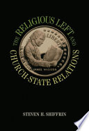 The Religious Left and Church State Relations