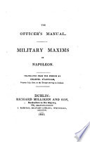 The Officer s Manual