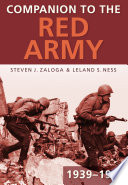 Companion to the Red Army 1939 1945