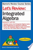 Let s Review  Integrated Algebra