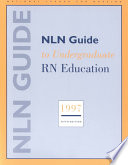NLN Guide to Undergraduate RN Education