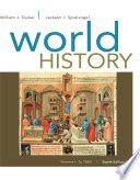 World History  Volume I  To 1800
