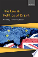 The Law   Politics of Brexit