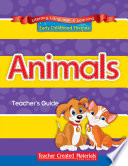 Early Childhood Themes   Animals   Complete Set