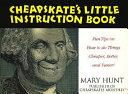 Cheapskate s Little Instruction Book