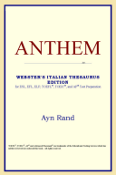 Ebook Anthem (Webster's Italian Thesaurus Edition) Epub ICON Reference Apps Read Mobile