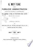 l monitore delle pubbliche amministrazioni giornale di dottrina e giurisprudenza pei comuni e per le provincie del Regno