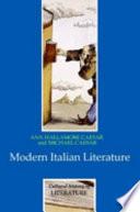 Modern Italian Literature book