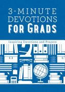 3 Minute Devotions for Grads